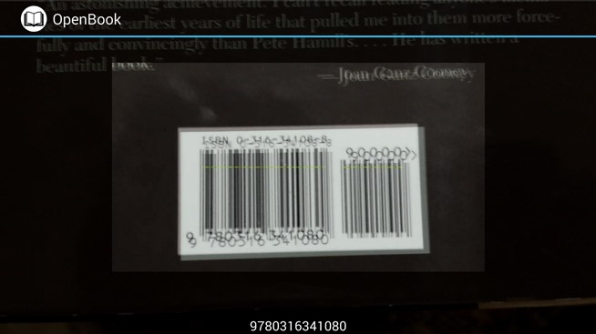 Scan Book Barcodes in Stores for Quick Access to Reviews on Android
