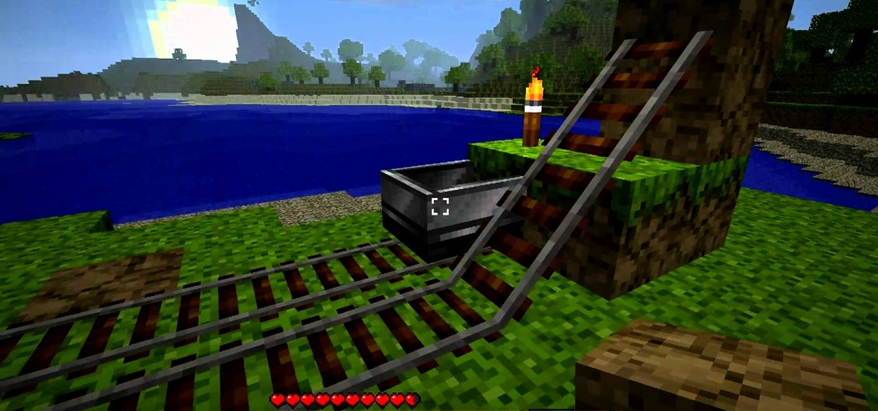 How To Build A Train Station For Minecarts In Minecraft PC Games - Minecart minecraft teleport to player