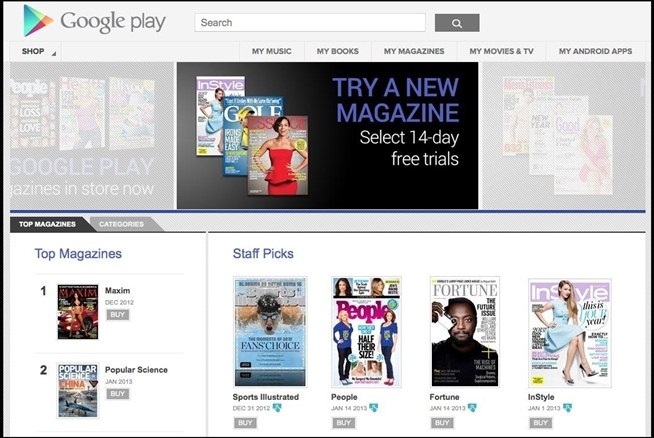 Get Unlimited Free Magazines from Google Play on Your Android Device