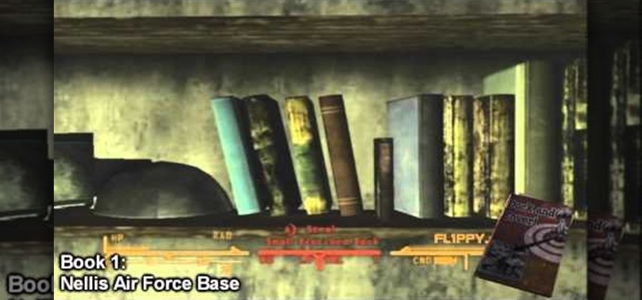 How to Find all of the skill books in Fallout New Vegas ...