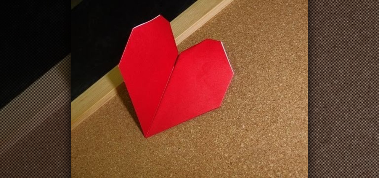 How To Craft A Simple Origami Beating Heart For Valentines Day