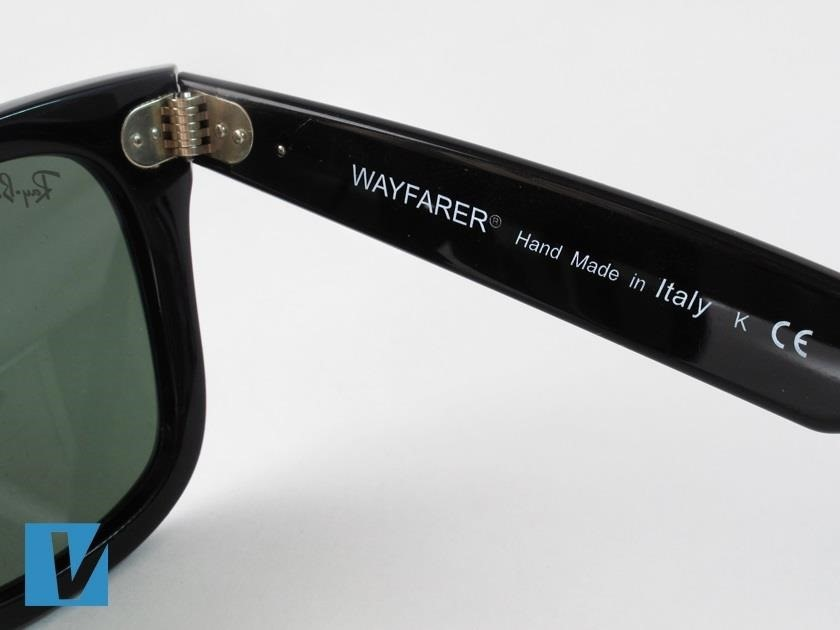 How to Identify Fake Ray-Ban Wayfarer Sunglasses