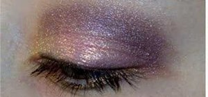 Create a subtle evening eye look