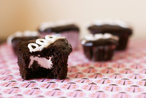 Recipe: Hostess Cupcakes