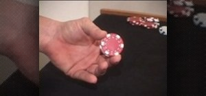Perform a poker chip twirl trick