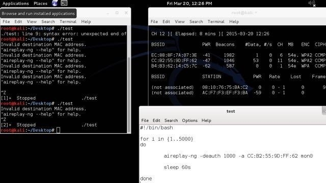 How to Hack Wi-Fi: DoSing a Wireless AP Continuously « Null Byte