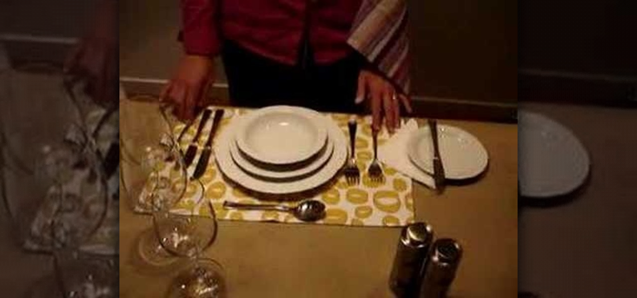 how to set a beautiful dinner table properly kitchen