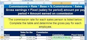 Calculate incentive rates by formula in MS Excel