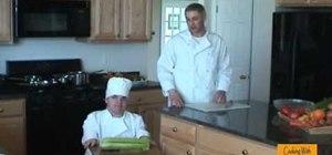 Prepare celery