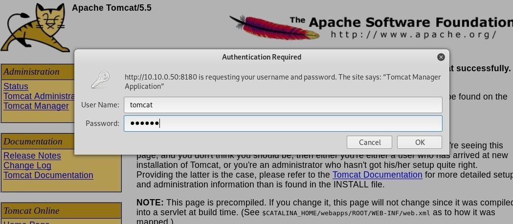 How to Hack Apache Tomcat via Malicious WAR File Upload