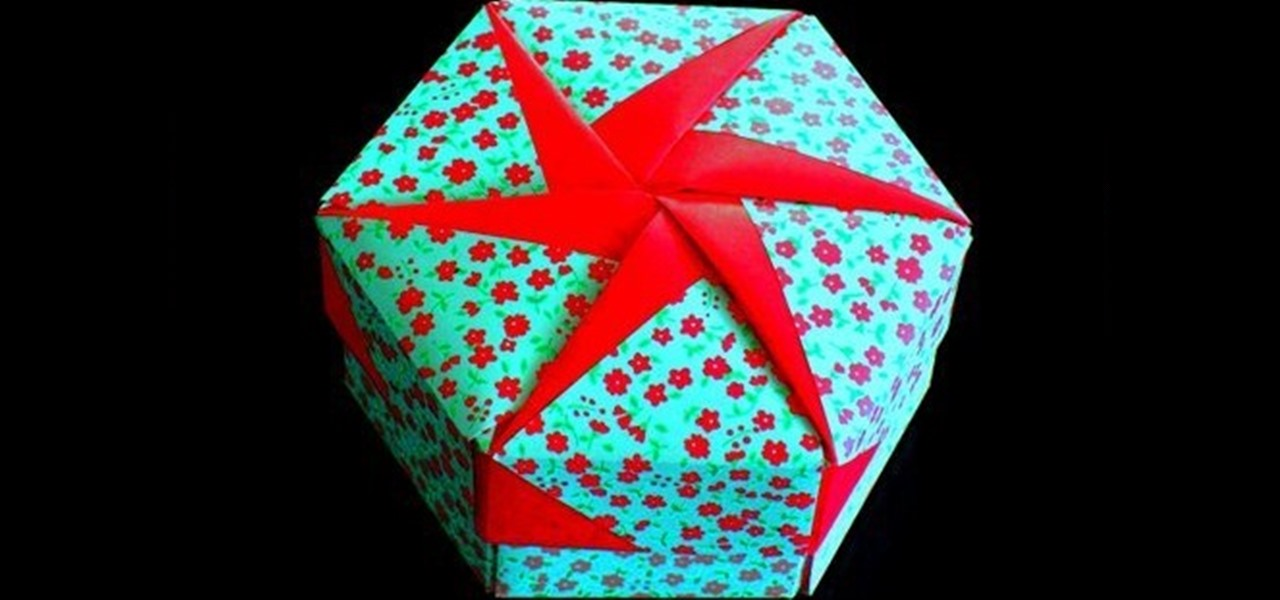 How to Make an origami gift box lid « Origami