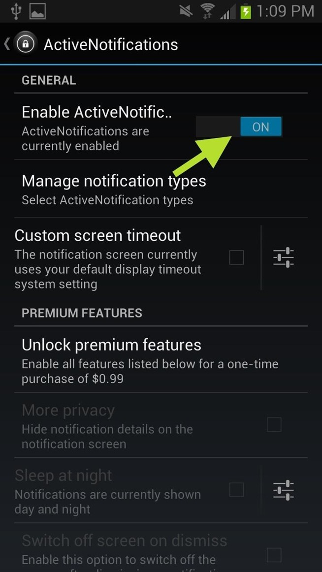 Turn Off Email Notification On Samsung Galaxy S4  Apps Directories
