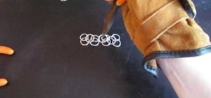 Use the European 4 in 1 method for making chainmaille