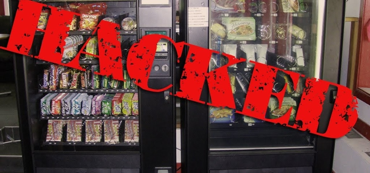 Hack a Vending Machine in 40 Seconds