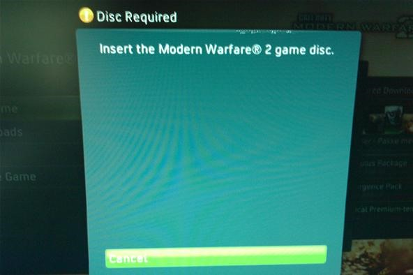 How to Make Your MW2 Perfect Circle Scratched Disc Playable On Xbox
