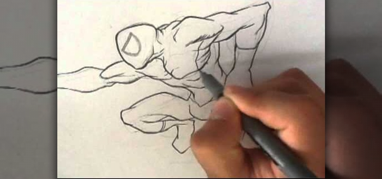 Draw and Ink Spiderman
