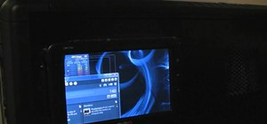"Install a 7"" USB monitor on the side of a PC tower case"