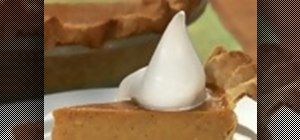 Make a simple easy pumpkin pie