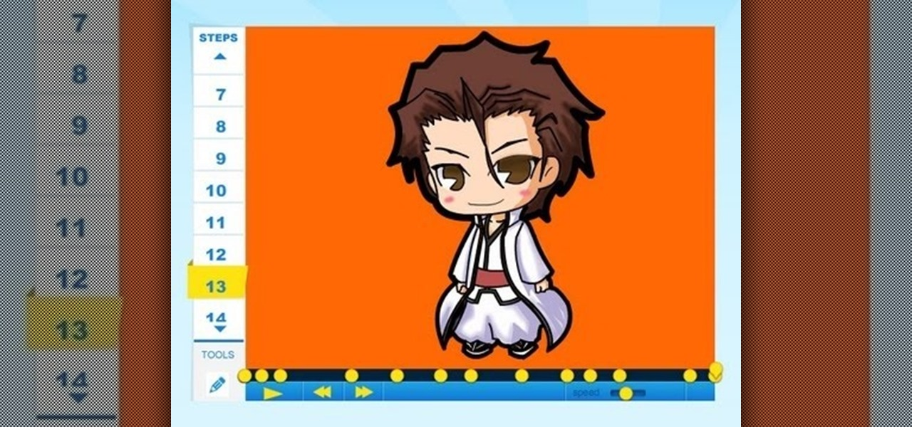 Draw Sosuke Aizen of Bleach