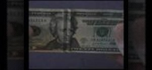 Make a dollar bill smile or frown at you