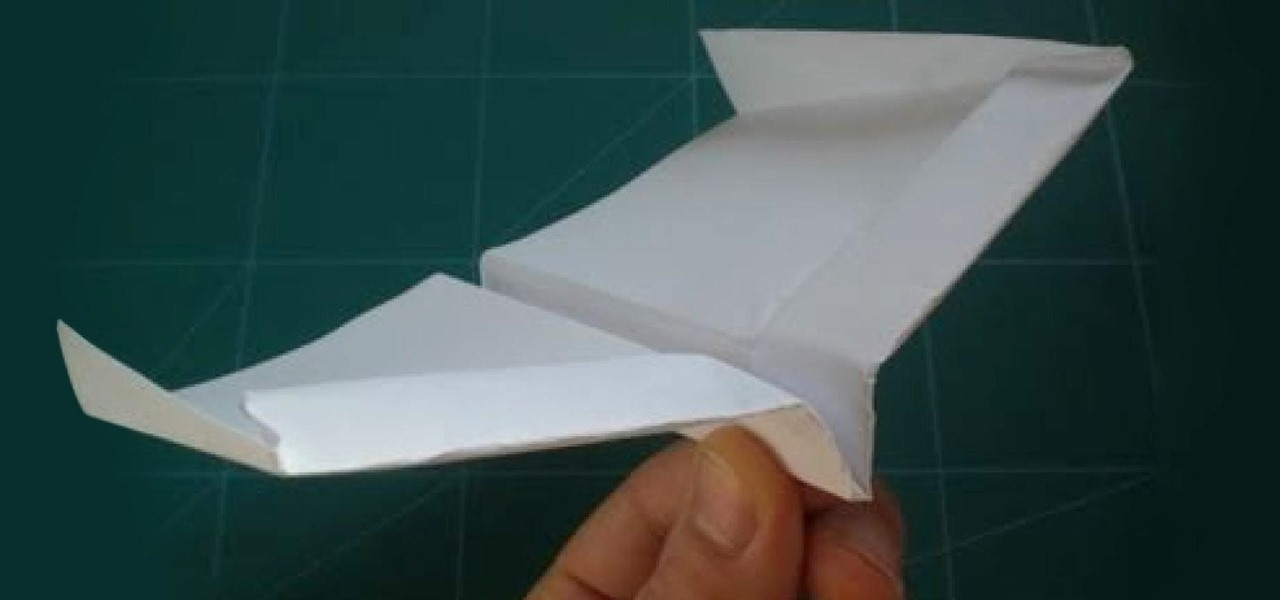 How to Fold the Record-Setting Glider-Style Paper Airplane