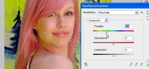 Change the color of your hair in Photoshop