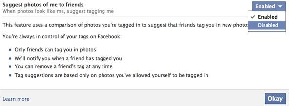 How to Stop Facebook's Facial Recognition Software from Automatically Tagging You in Photos