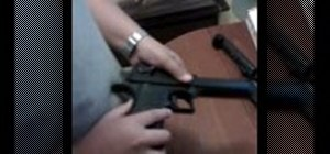 Disassemble and reassemble a Desert Eagle airsoft gun