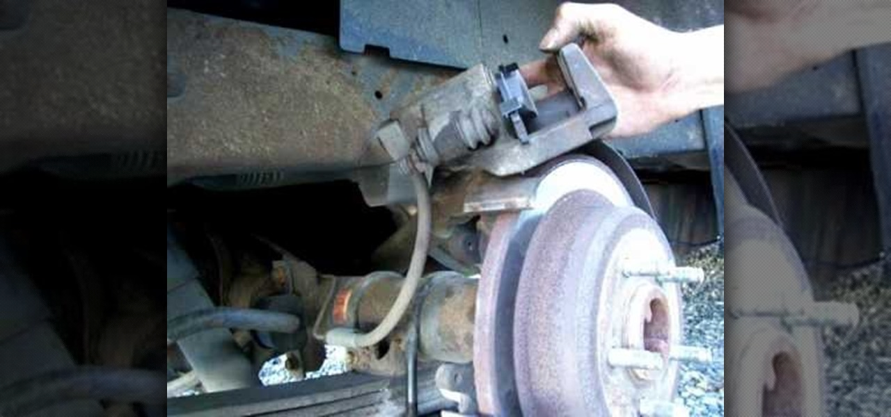 How To Replace Rear Brake Pads On A Ford Explorer 171 Auto Maintenance Amp Repairs Wonderhowto