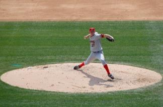Major League pitch!