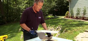 Properly install a dog door for your canine with tips from Lowe's