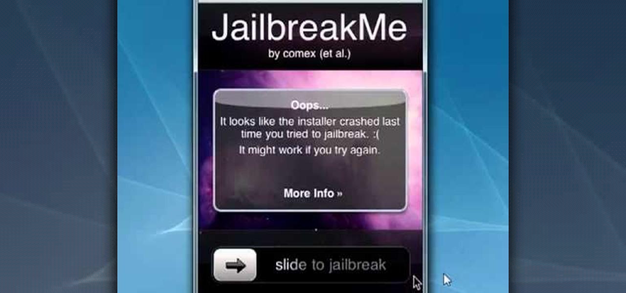 How to Jailbreak an Apple iPhone 4 with the JailBreakMe website « iOS Gadget Hacks
