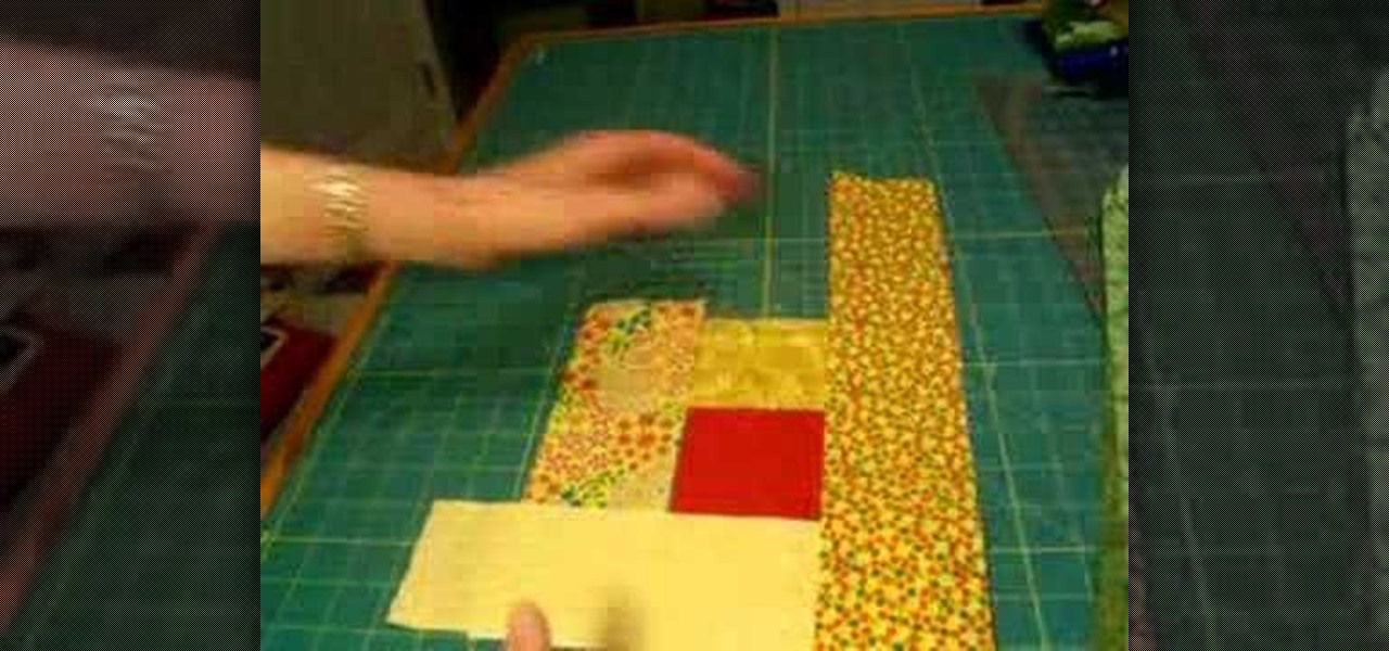 How To Lay Out And Sew A Log Cabin Quilt Square 171 Quilting