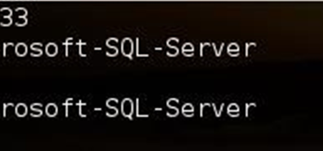 Easily Find What Port a Service Runs On and Vice-Versa