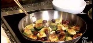 Cook artichokes provencal with the NY Times