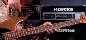 Play bass guitar for beginners using open strings
