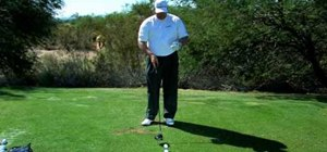 Hit a golf ball longer and straighter when driving