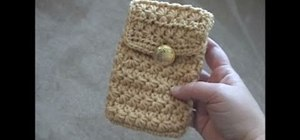 Crochet a flat pouch with a start stitch