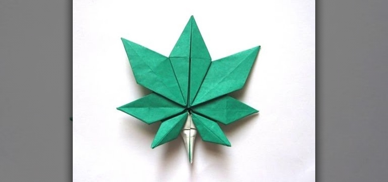 Maple Leaf vs Pot Leaf How to Origami a Maple Leaf