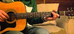 """Play """"The Cave"""" by Mumford and Sons on guitar"""