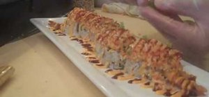 Make a Sunset Blvd. sushi roll