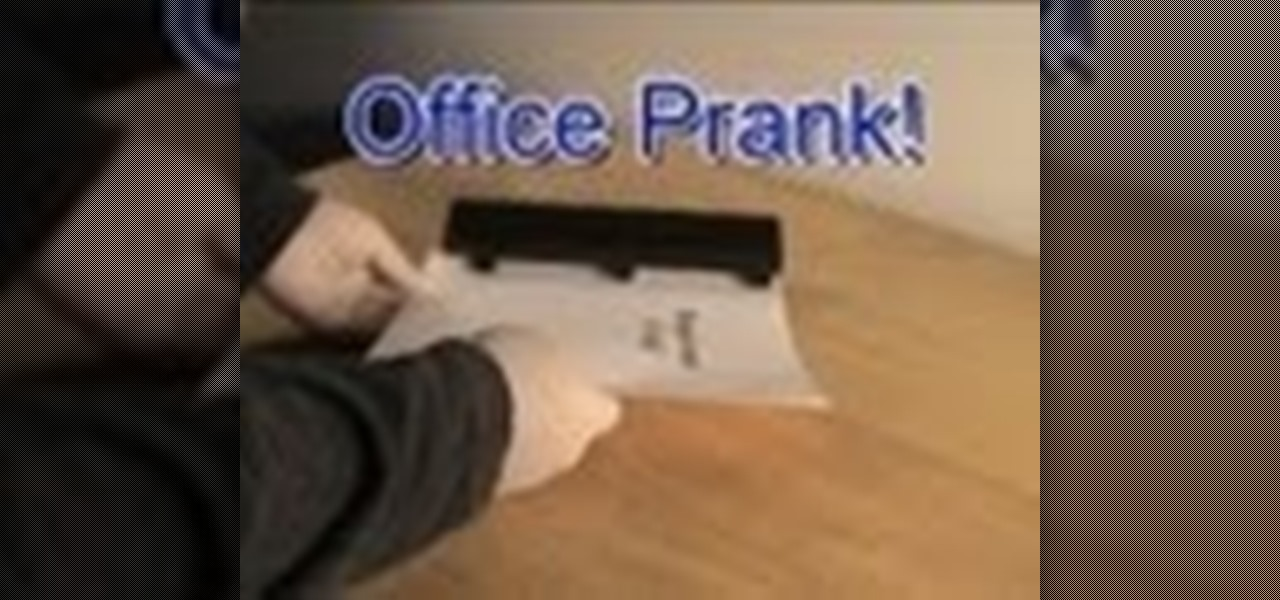 An Office Prank You Can Get Away With!