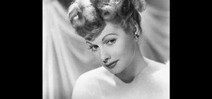 Get a Lucille Ball inspired pin-up ponytail