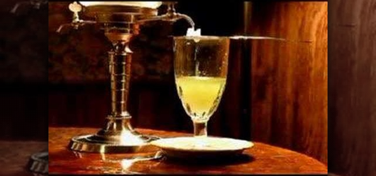 How To Make A Proper Absinthe Drink