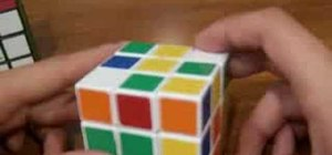 Speed up the Jessica Fridrich Method on a Rubik's Cube