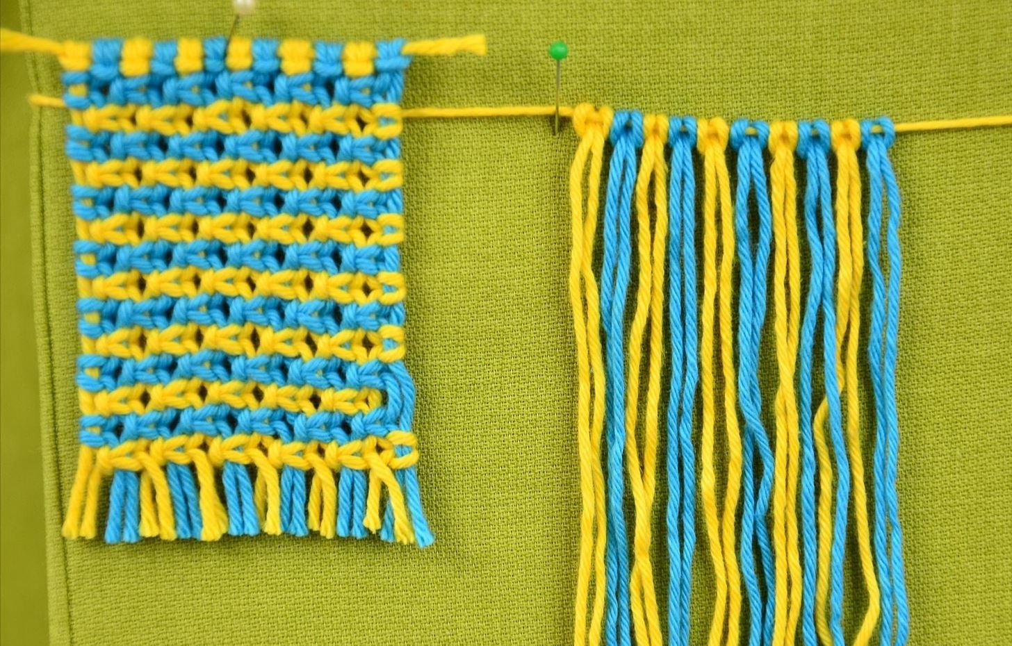 Macrame ABC - Pattern Sample #10