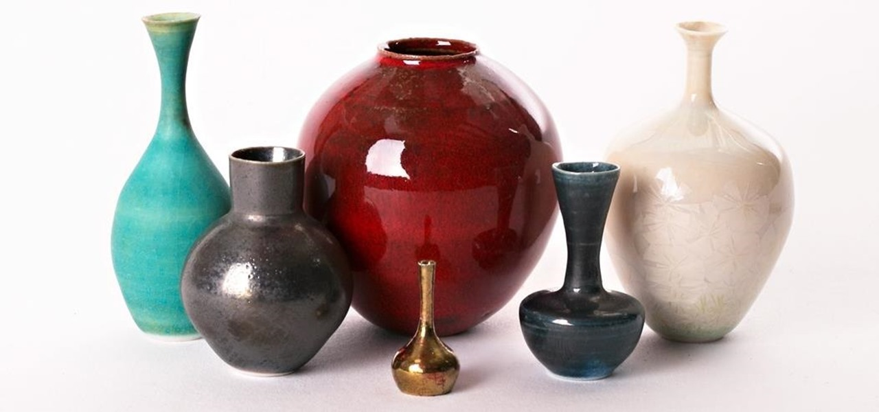 These Tiny Pots & Vases Are Made Just Like Big Ones—By 'Throwing' on a Potter's Wheel