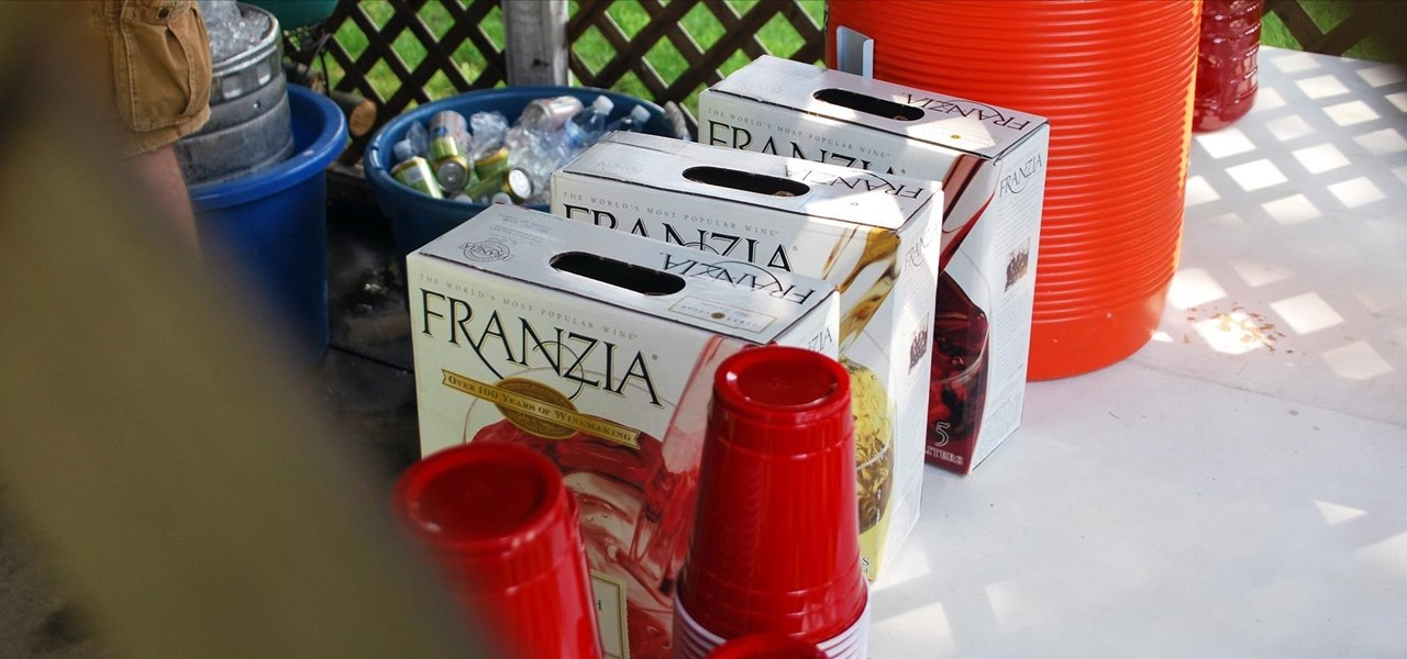 Turn Boxed Wine into a Mega Ice Pack That's Perfect for Big Coolers