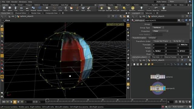 Use UV mapping in Houdini - Part 1 of 4