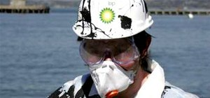 BP Oil Spill Clean Up Halloween Costume